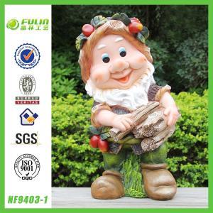 China Funny Garden Gnome Statue on sale