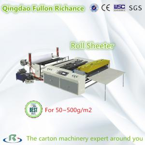 China High Quality Carbon Less Paper Roll Sheeter & Cutting Slitting Machine on sale