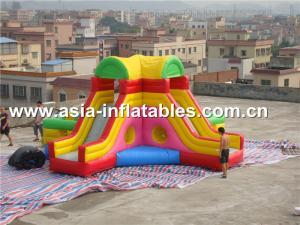 China Diapositiva inflable y gorila del uso en el hogar combinadas para los juegos de sociedad del children s on sale