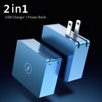 China 2 in 1 USB Charger Power Bank 5000mAh 5V/2A Fast Charger Mini Portable on sale