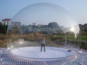 China Transparent Inflatable Show Ball With Durable PVC Tarpaulin Base on sale