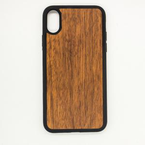 China Wood Bamboo iPhone Case Mobile Phone Accessories with Different Pattern Selection on sale