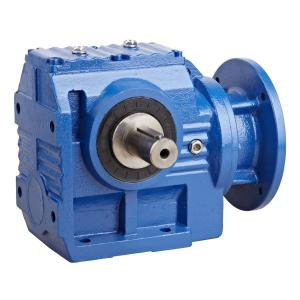 China S Series Modular Helical Worm Gear Motor , High Speed Worm Gear Reduction Box on sale