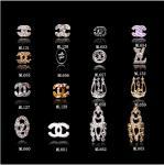 кусок г МЛ653-663 стразов яркого блеска украшения искусства ногтя ювелирных изделий сплава КК логотипа бренда 3Д