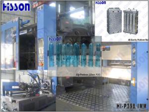 China Plastic Injection Molding Equipment , 398Tons PET Bottle Preform Making Machine on sale