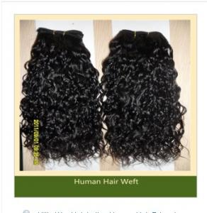 China Milky Way Hair Indian Human Hair Extensions (ZYWEFT-121) on sale