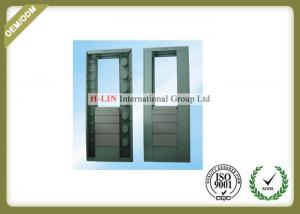 China Indoor Optical Telecommunication Distribution Box Cold Rolled Steel Material 576 Cores on sale