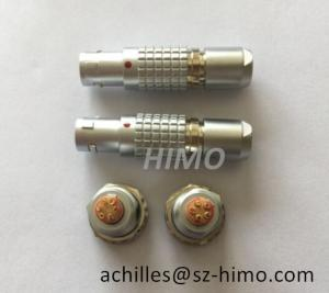 Quality Metal 6-pin electronic connector lemo equivalent plug and socket for sale