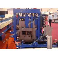 Automatic Steel C Purlin Roll Forming Machine For Steel Construction
