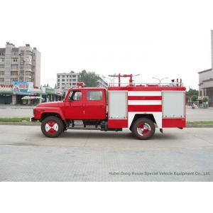 China Small Water / Foam Fire TruckWith Fire Monitor For Quick Fire Rescue Service on sale