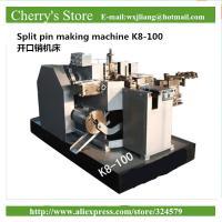 Split pin making machine K8-100 Equipment For Produce DIN Standards 5mm Split Pin Key