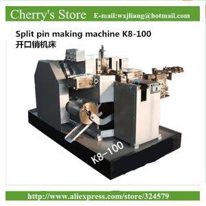 China Split pin making machine K8-100 Equipment For Produce DIN Standards 5mm Split Pin Key on sale
