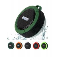 China Hot sell C6 sport portable IP5 Bluetooth waterproof speaker, wireless mini speaker with TF card read and microphone on sale