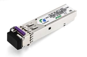 China Durable Fiber Optical Transceiver SFP BIDI DDM 1.25G 1490/1550nm 80KM Distance on sale