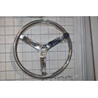 China Marine 3 Spoke Stainless Steel Boat Steering Wheel from China supplier on sale