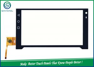 China 7 Inches G + G Flat Capacitive Multi Touch Panel Industrial Equipment With IC GT911 on sale