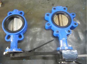Quality 200mm Victaulic Butterfly Valves Crane Triple Offset Flanged Resilient Sealing for sale