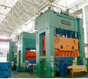 China 37KW Y28-315 / 400 4000KN 1600mm L-R 1180mm F-B Double action hydraulic drawing power press on sale