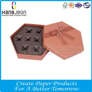 Food Packing Fancy Paper Drawer Chocolate Candy Gift Box With