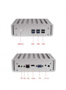 China Intel I3 I5 I7 Rugged Embedded Industrial PC With 6 USB 2 COM 2 LAN Ports on sale