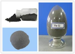 China Flammable Low Carbon Reductant Fe - Si Alloy Powder C 0.2% Controlled Particle Size on sale