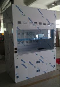 China pp non ducted lab fume hood manufacturer with  acid and alkali fume scrubber functions on sale