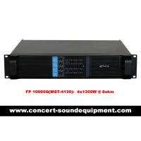 China 4x1300W Disco Sound Equipment FP 10000Q Light Weight Class TD Amplifier For Concert And Nightclub on sale