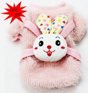 China cute dog clothes with cotton material on sale