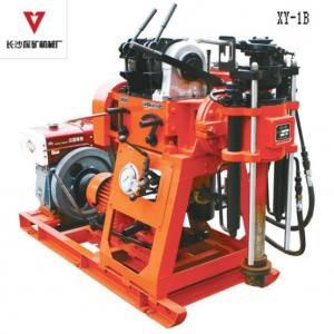 China Oil Hydraulic Feed System Portable Drilling Rig With Mud Pump Integrated on sale