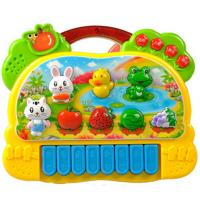 Musical Educational Cute Baby Toys With Animal Farm Piano Music