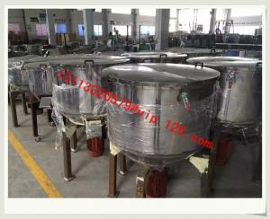 China 150kg Plastic Granule Vertical Mixer/Blender for plastic products production/Vertical color mixer For Peru on sale