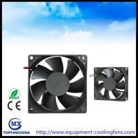 China High Air Volume DC 12V Computer Case Cooling Fans High Temperature 80mm X 80mm X 25mm on sale