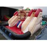 NE71 Big Inflatable Bouncer Slide 0.55mm PVC Tarpaulin Inflatable Pool Slide