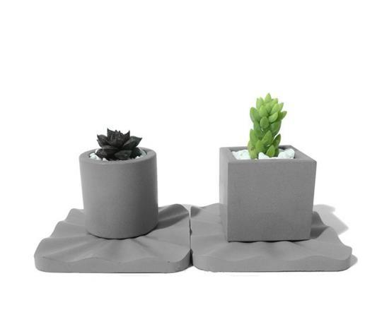 Silicone Molds Concrete Vases And Plant For Cement Custom Concrete
