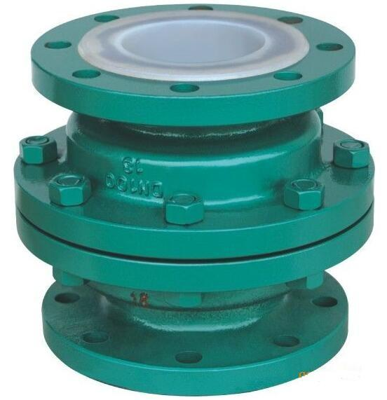 GGG 40 3 ductile iron Ball Check Valve with two Flanged