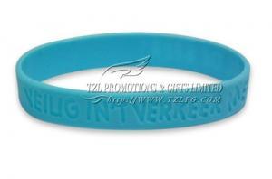 China Bracelet de silicone de Debossed de promotion de TZL Promotions & Gifts Limited - DSW002 on sale