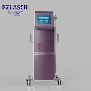China Vertical 3 In 1 Pain Free Laser Hair Removal Machines / Laser Skin Care Machine on sale