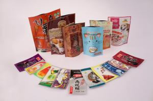 China Printed Plastic Snack Bag, PET / PE / AL / CPP Food Flexible Packaging on sale