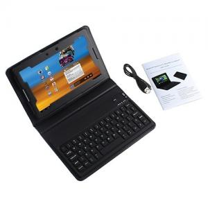 China Small Dimension Protective PU Leather Case Bluetooth Keyboard For Blackberry Playbook on sale