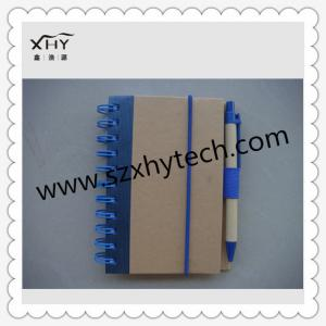 China eco-friendly hardcover spiral notebook on sale