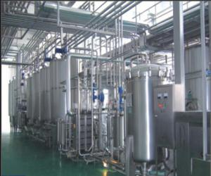 China SUS304 Stainless Steel Soft Drink Production Line For Yoghurt Milk 5000 L/H on sale