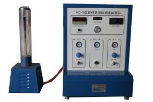 China Plastic Oxygen Index Method Test Equipment ISO4589-1 , Burning Behaviour Testing Machine on sale