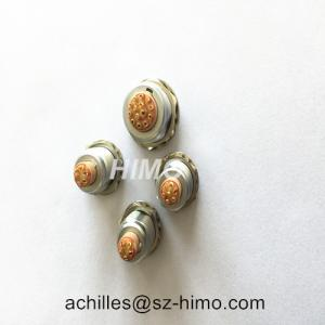 Quality push-pull shell size 0B series EGG.0B.307 7 PIN female lemo receptacle connector for sale