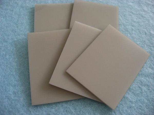 Customized Aluminium Nitride Ceramic Piece Aln Plate For