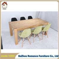 China dining room table wooden dining table made in china T2006 on sale