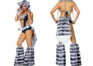 China Sexy Midnight Wolf Adult Party Costumes Dance For Halloween Christmas Bar on sale