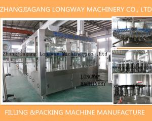 China Nectar drinks filling bottling equipment in zhangjiagang Longway on sale