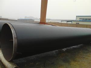 China Coal Tar Epoxy Coated ERW Steel tubes for liquid transferring on sale