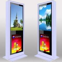 China Custom Full Screen Floor Stand LCD AD Display / Digital Signage Kiosk 3G High Definition on sale