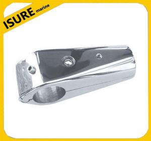 "Isure Marine30 Degree 1/"" Round Base  Stainless Steel TopBoat Hand Rail Fittings"